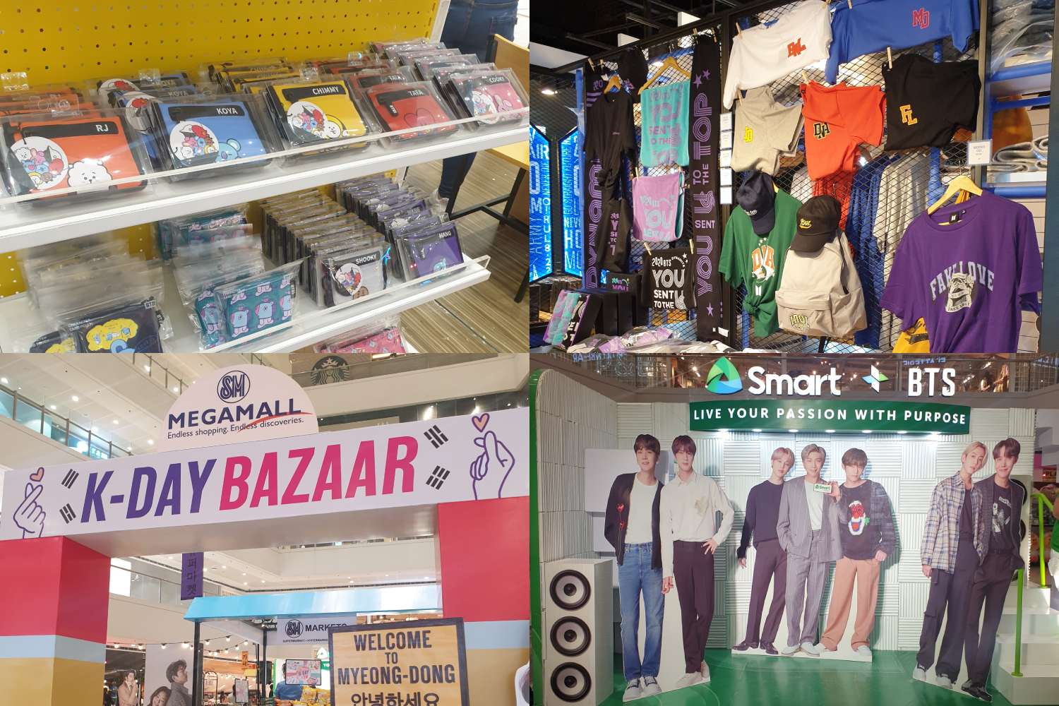 Have a great BTS day at the SM Megamall Korean Festival