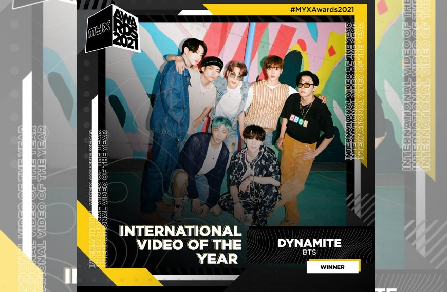 BTS thanks Pearl ARMY for their third win at MYX Awards 2021