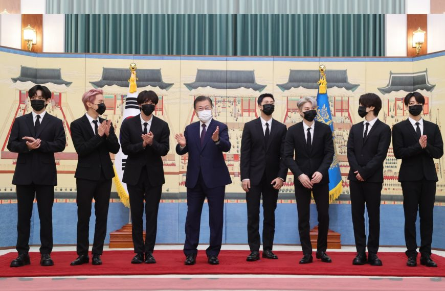 WATCH: BTS appointed as Special Presidential Envoy for Future Generations and Culture